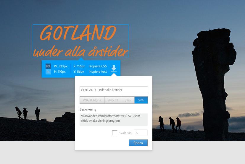 Annons för Gotland